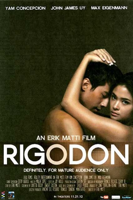 Rigodon (2012) หนังติดเรทของนางแบบ FHM ชาว Philippines