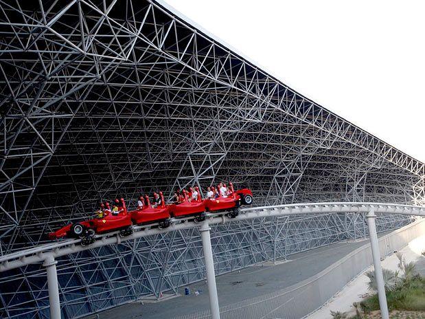 Montanha russa mais rápida do mundo