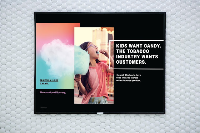 "Duncan Channon's new ""Flavors Hook Kids"" Campaign for California s Department of Health"
