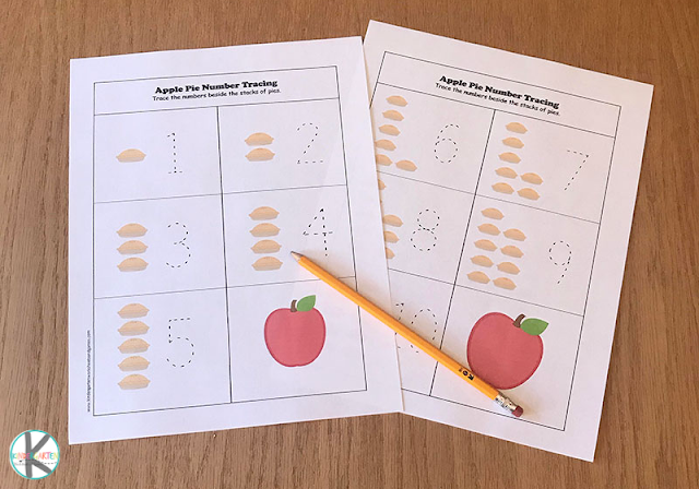 Apple Math Worksheets