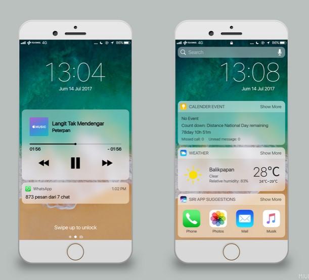 Tema iPhone untuk Xiaomi Terbaru 2019 - Alakadarnya