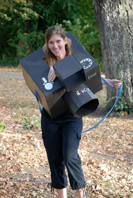 Nikon camera cardboard costume