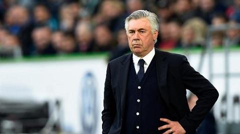 Huấn luyện viên Ancelotti được cho là thất bại trong mùa giải này