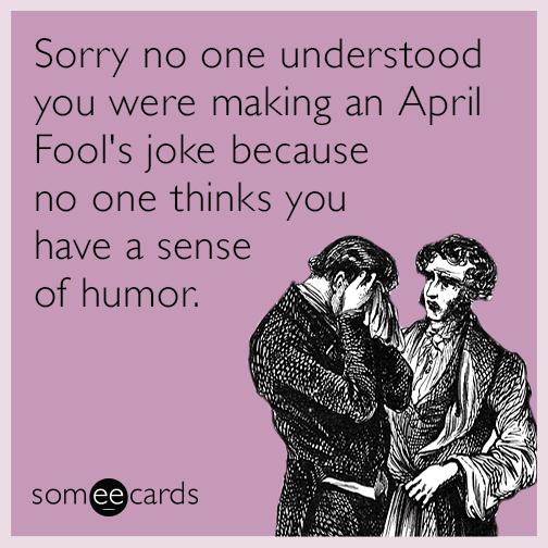 April fool day cliparts