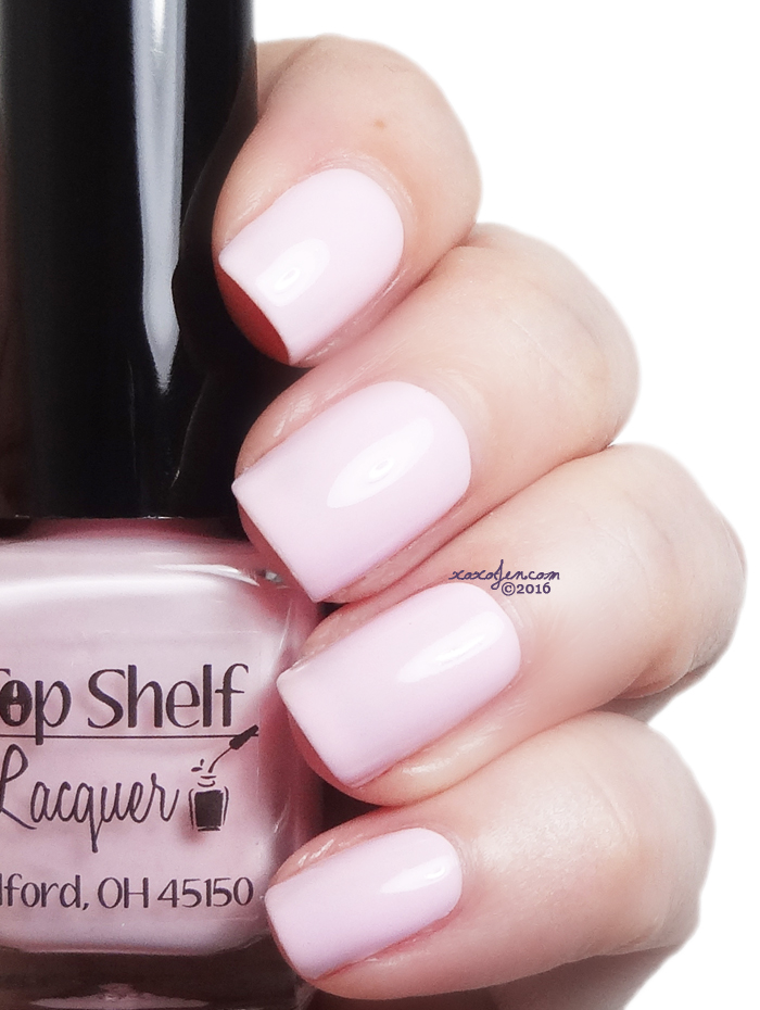 xoxoJen's swatch of Top Shelf Cupid's Float