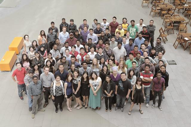 Employees of Lazada Malaysia
