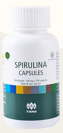 spirulina capsule tiens