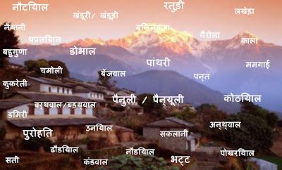 DevBhumiUttarakhand_Garhwali Brahmin Surnames