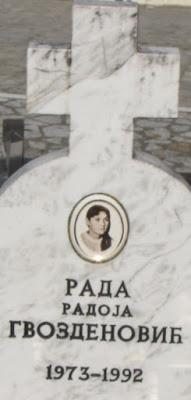 РАДА (19) ЈЕ БИЛА ЂАК ГЕНЕРАЦИЈЕ И ПОНОС БРАТУНЦА; УБИЛЕ СУ ЈЕ ХОРДЕ НАСЕРА ОРИЋА НА КУЋНОМ ПРАГУ