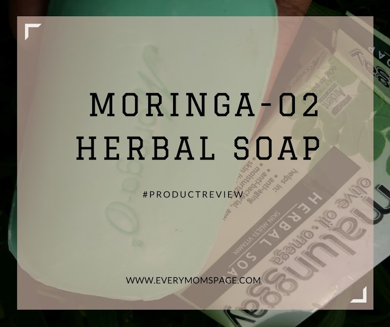 Moringa-O2 Herbal Soap #ProductReview