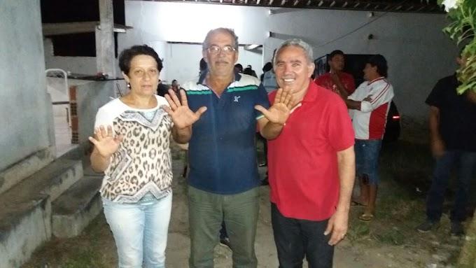 Eleições 2016: Dia 30 as 19 horas,na Câmara de Vereadores lançamento das pré-candidaturas de Gorete Leite (Prefeita) e Mestre Raimundo (Vice-Prefeito).