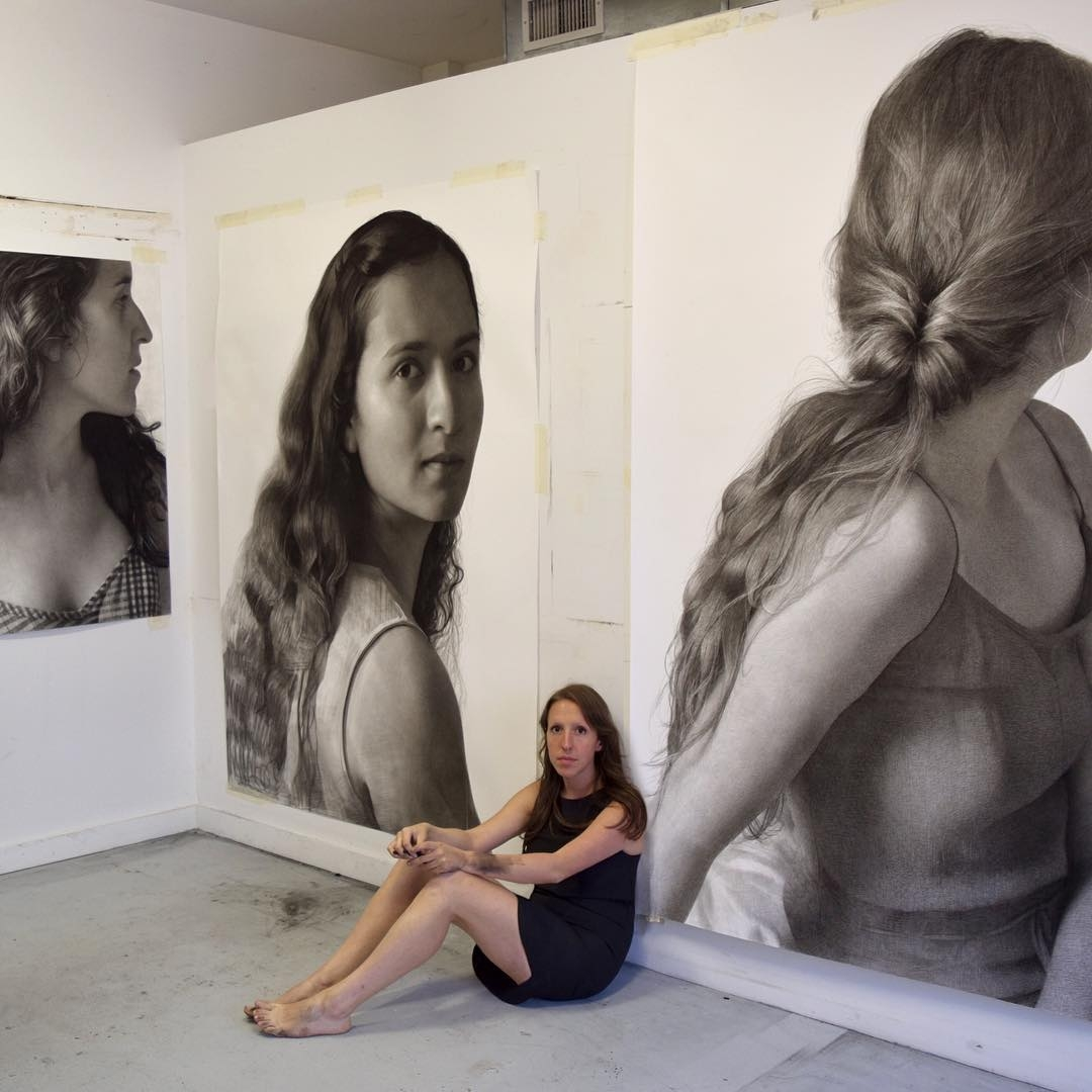 08-Clio-Newton-Enormous-Gigantic-Realistic-Charcoal-Portraits-www-designstack-co