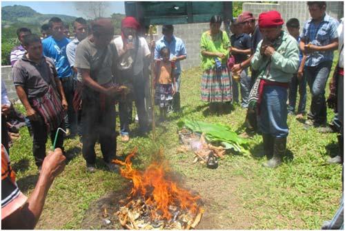 Ceremonía Maya