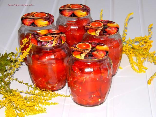 Pomidorki lima na sosy i do zup.