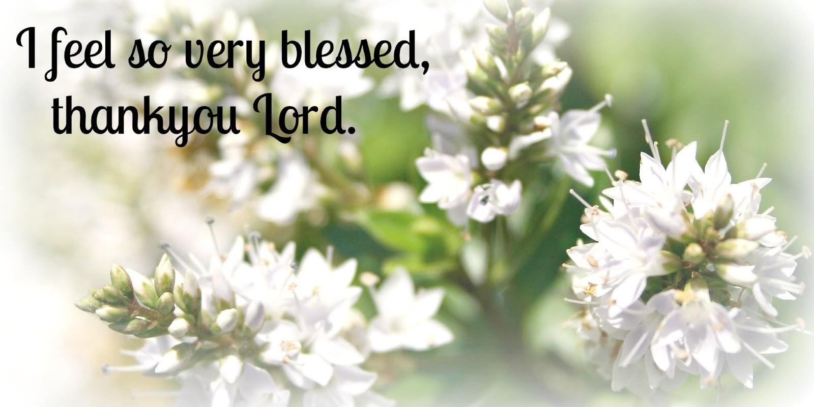 Feeling blessed #1  Feeling blessed...