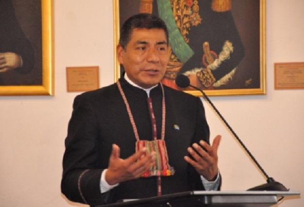 Huanacuni ve la demanda ante la CIJ como un paso más en este examen histórico / KANDIRE