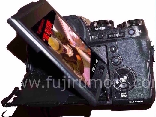 Поротный экран Fujifilm X-T2