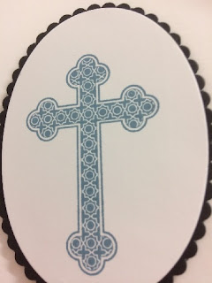 Christening card zena kennedy independent stampin up demonstrator