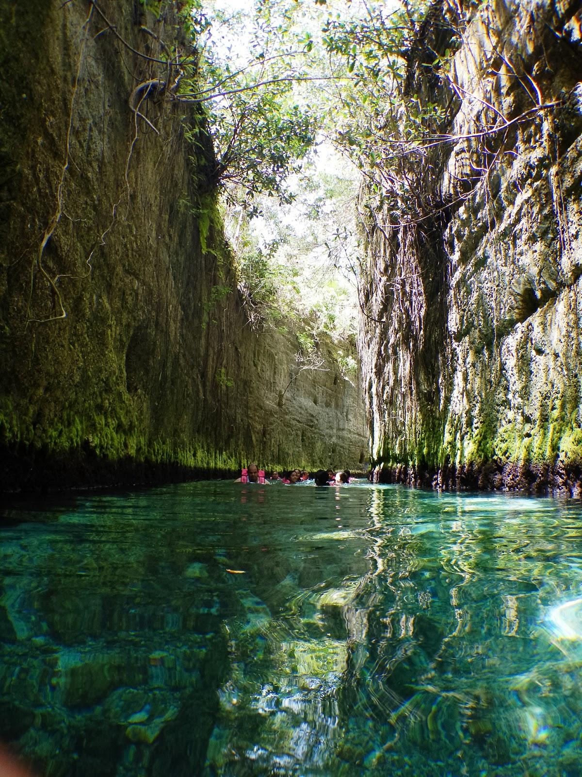underground rivers xcaret