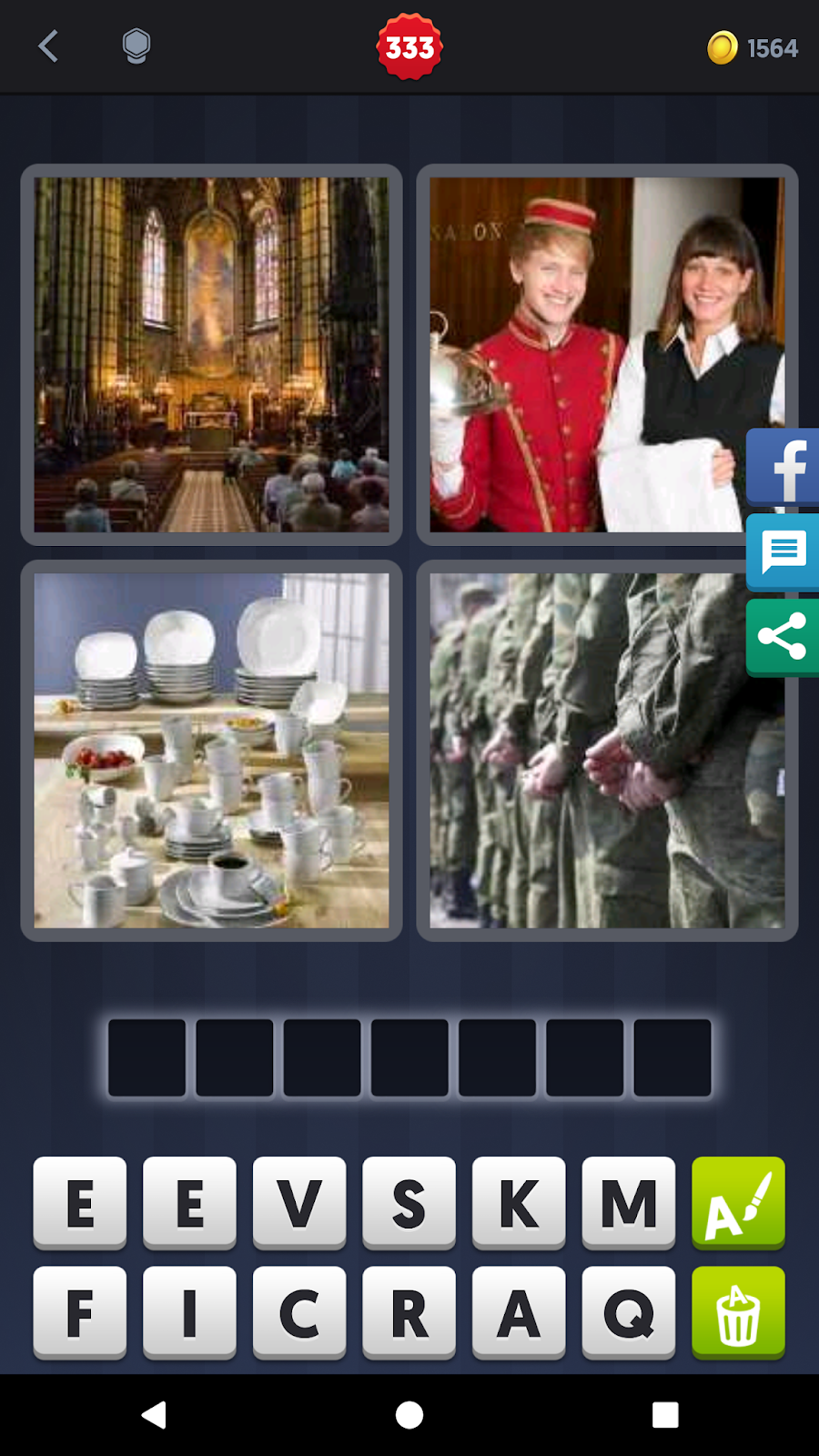 4 Pics 1 Word Answers Solutions Level 333 Service