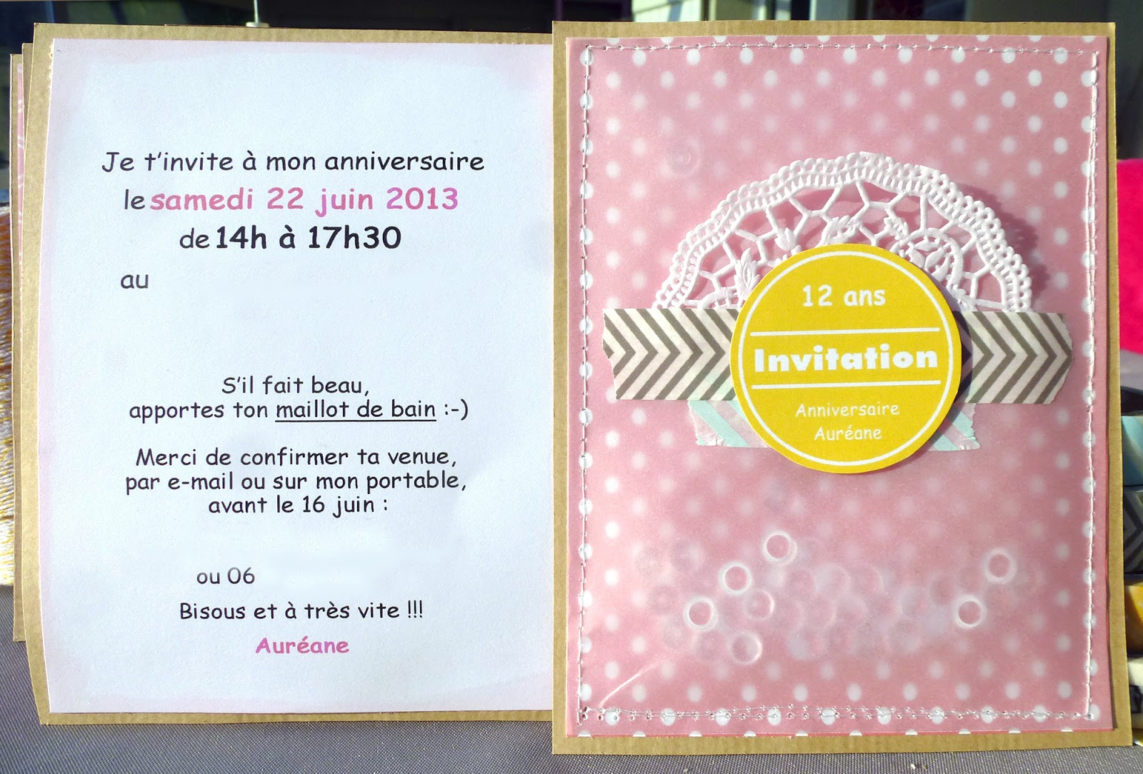 texte carte invitation anniversaire 8 ans. Black Bedroom Furniture Sets. Home Design Ideas
