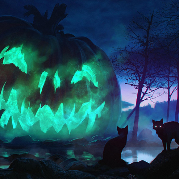 Halloween Wallpaper Engine
