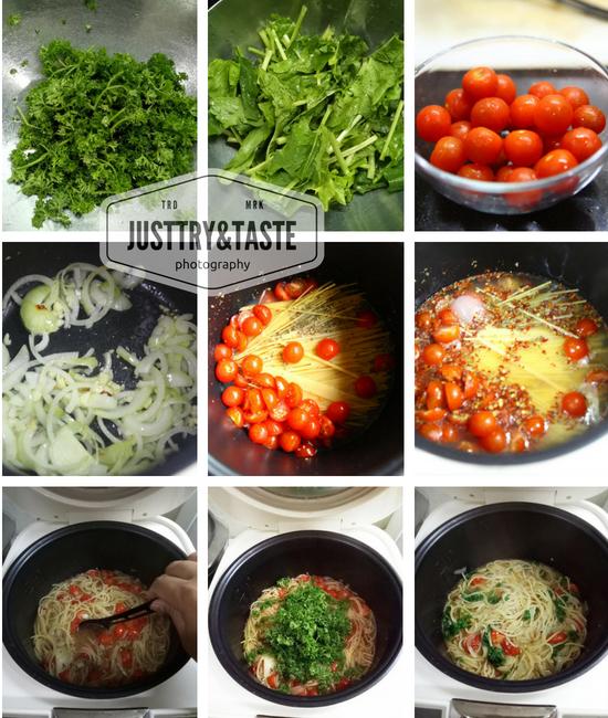 One Pot Spaghetti Tomatoes