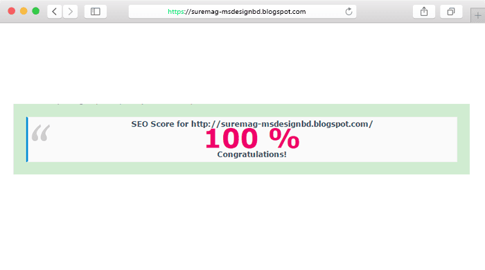 Sure mag seo friendly blogger template