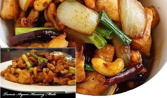 Resep Tumis Ayam Kacang Mede