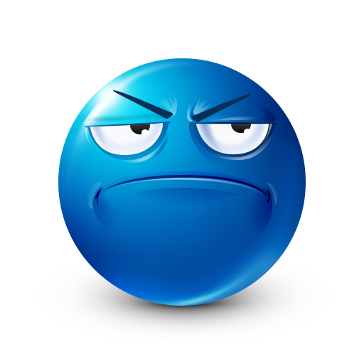 Frown Facebook Sticker