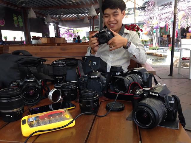 Dịch vụ của chothuemayanh.net giúp các bạn muốn thuê máy ảnh DSLR thỏa mái hơn trong trải nghiệm các sản phẩm máy ảnh DSLR
