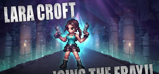 Lara Coft llega a FINAL FANTASY® BRAVE EXVIUS® por un período de tiempo limitado