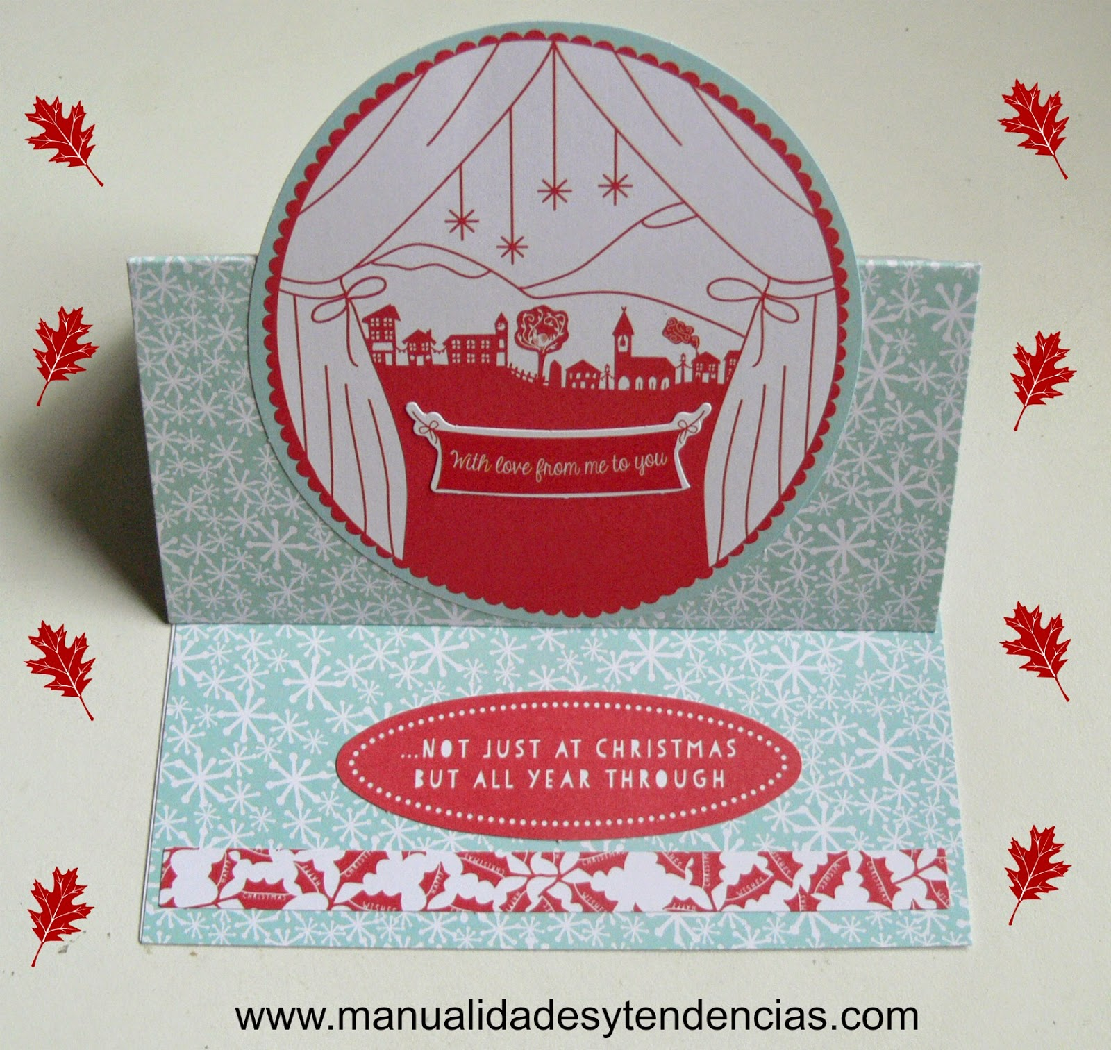 Tarjeta navideña 3D / 3 D Christmas card