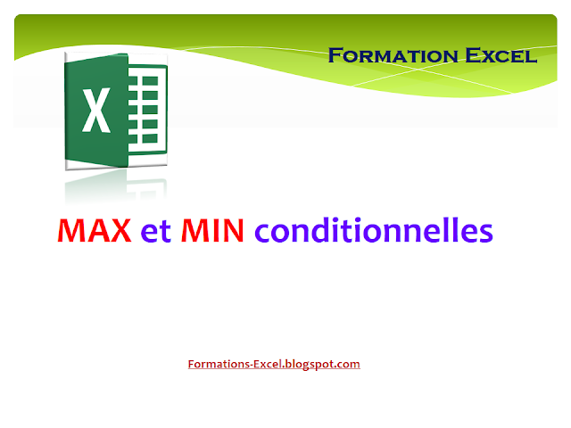 Max et Min conditionnelles