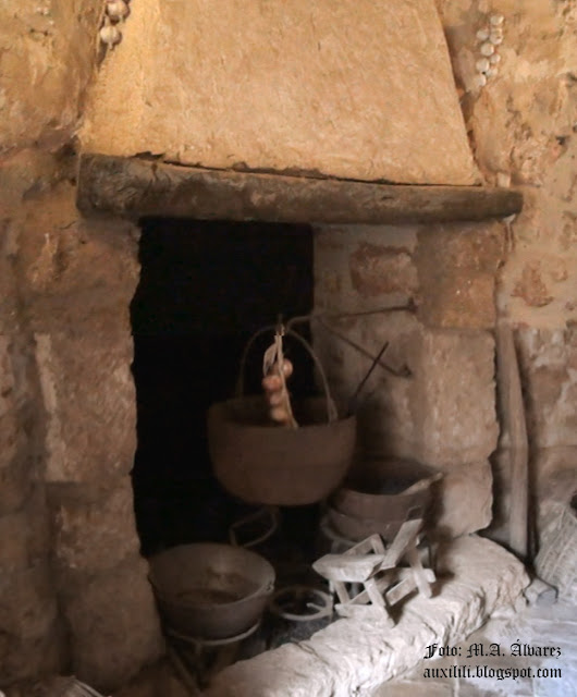 Castillo de Niebla. Cocina.