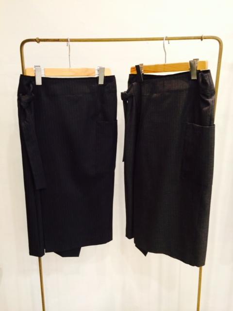 pas de calais【パドカレ】メンズストライプスカート