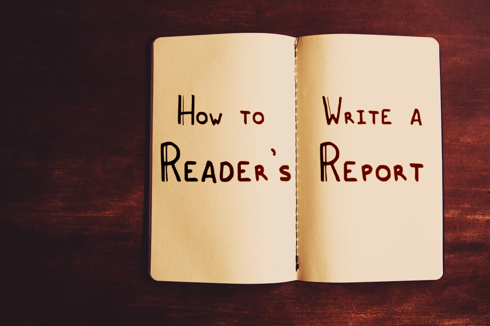 DuoDiaries: How to Write a Reader's Report