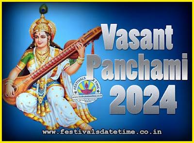 2024 Vasant Panchami Puja Date & Time, 2024 Vasant Panchami Calendar