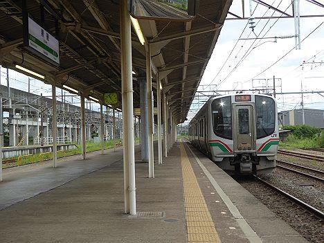【キハ110系に置き換え!】交流電車E721系のワンマン 黒磯行き(2017.10.13廃止)