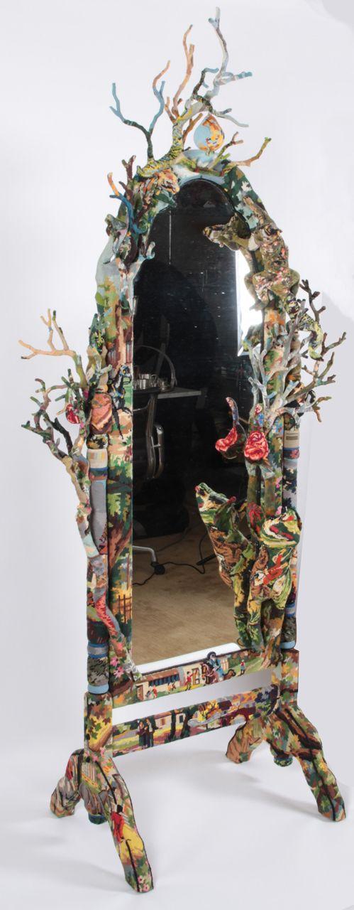 lustro dekorowane