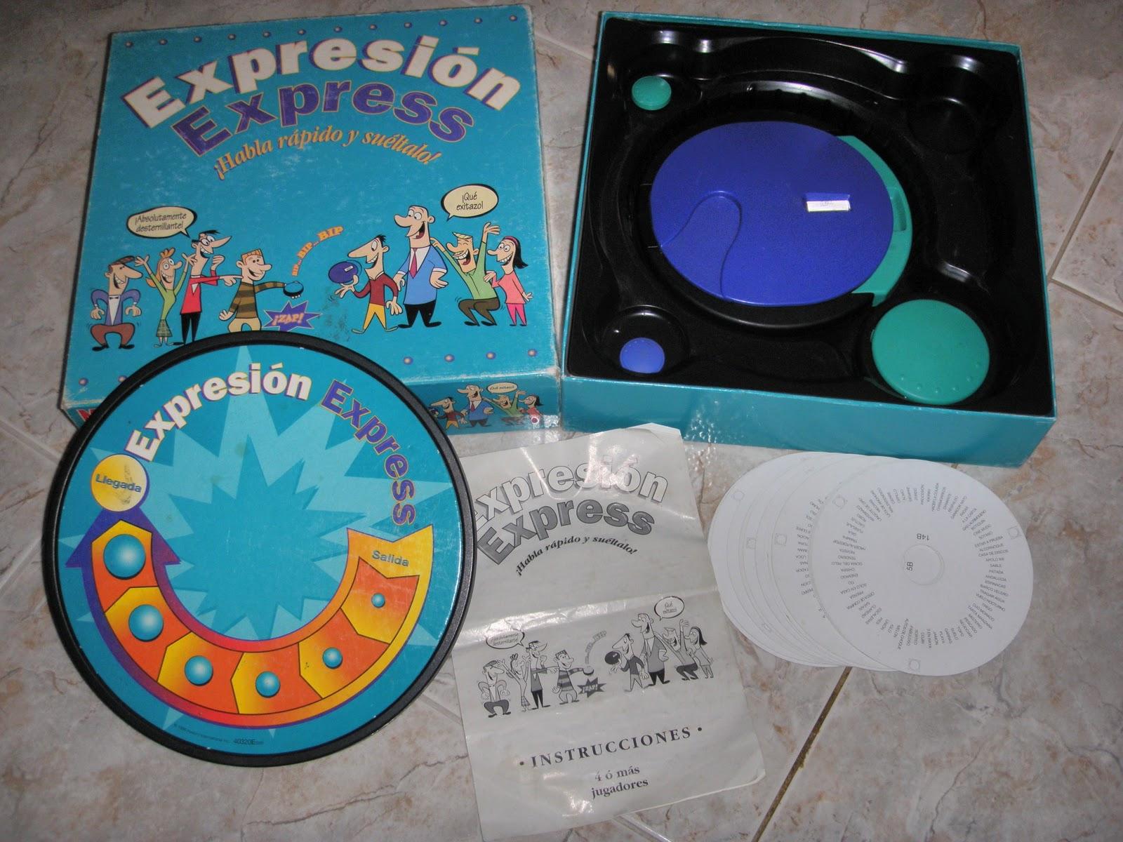 La Buhardilla De Pol Expresion Express Juego De Mesa Mb Juegos