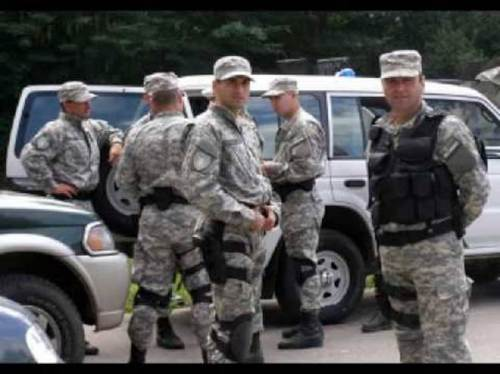 Heavily-armored DHS vehicles seen on roads across the