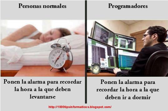 programadores prefieren trabajar de noche.