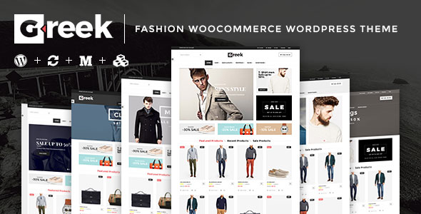 Free Download VG Greek V1.0 Fashion WooCommerce WordPress Theme