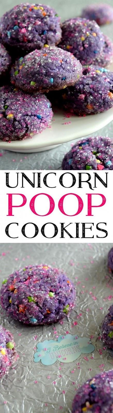 Unícorn Poop Cookíes