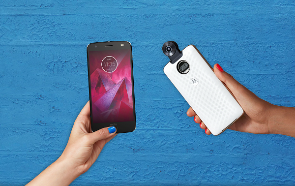 Moto Z2 Force Edition and 360 Camera Moto Mod launched