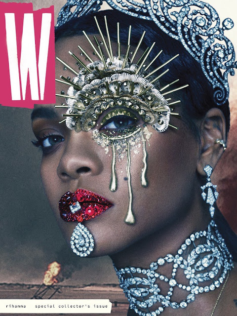 Actress, Singer, Model, @ Rihanna by Steven Klein for W September 2016