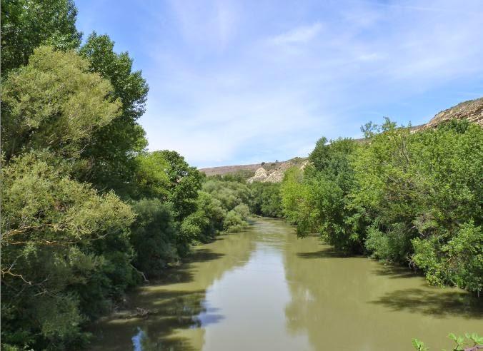 Río Ebro.