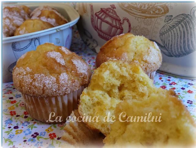Magdalenas de nata (La cocina de Camilni)