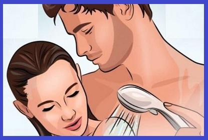 فوائد استحمام الزوجين معا بعد الجماع